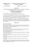 Nghị quyết số 17/2017/NQ-HĐND Tỉnh Cà Mau