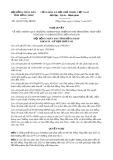Nghị quyết số 124/2017/NQ-HĐND Tỉnh Đồng Tháp