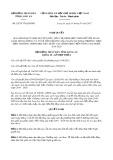 Nghị quyết số 20/2017/NQ-HĐND Tỉnh Long An