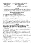 Nghị quyết số 70/2017/NQ-HĐND Tỉnh Vĩnh Long