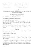 Nghị quyết số 17/2017/NQ-HĐND Tỉnh Sóc Trăng