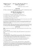 Nghị quyết số 13/2017/NQ-HĐND Tỉnh An Giang