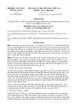 Nghị quyết số 95/NQ-HĐND Tỉnh Hà Giang
