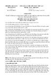 Nghị quyết số 29/NQ-HĐND Tỉnh Yên Bái