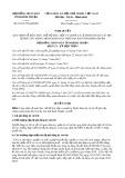 Nghị quyết số 25/2017/NQ-HĐND Tỉnh Bình Thuận