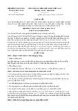 Nghị quyết số 33/2017/NQ-HĐND Tỉnh Quảng Ngãi