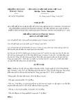 Nghị quyết số 18/2017/NQ-HĐND Tỉnh Sóc Trăng