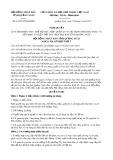 Nghị quyết số 16/2017/NQ-HĐND Tỉnh Quảng Ngãi