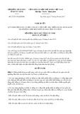 Nghị quyết số 27/2017/NQ-HĐND Tỉnh Tây Ninh