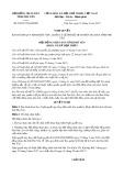 Nghị quyết số 26/2017/NQ-HĐND Tỉnh Phú Yên