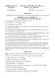 Nghị quyết số 38/NQ-HĐND Tỉnh Sơn La