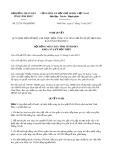 Nghị quyết số 21/2017/NQ-HĐND Tỉnh Vĩnh Phúc