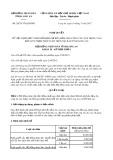 Nghị quyết số 28/2017/NQ-HĐND Tỉnh Long An