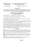 Nghị quyết số 77/2017/NQ-HĐND Tỉnh Bình Định