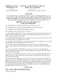 Nghị quyết số 15/2017/NQ-HĐND Tỉnh Quảng Ngãi