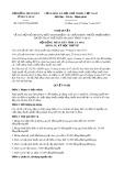 Nghị quyết số 18/2017/NQ-HĐND Tỉnh Cà Mau