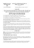 Nghị quyết số 15/2017/NQ-HĐND Tỉnh Thừa Thiên Huế