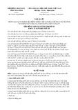 Nghị quyết số 13/2017/NQ-HĐND Tỉnh Thái Bình