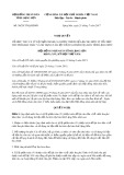 Nghị quyết số 38/2017/NQ-HĐND Tỉnh Lạng Sơn