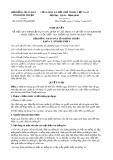 Nghị quyết số 22/2017/NQ-HĐND Tỉnh Bình Thuận