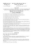 Nghị quyết số 17/2017/NQ-HĐND Tỉnh Tiền Giang