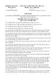 Nghị quyết số 28/2017/NQ-HĐND Tỉnh Yên Bái