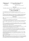 Nghị quyết số 17/NQ-HĐND Tỉnh Bến Tre