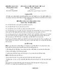 Nghị quyết số 66/2017/NQ-HĐND Tỉnh Quảng Ninh
