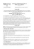 Nghị quyết số 24/2017/NQ-HĐND Tỉnh Bà Rịa - Vũng Tàu