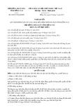 Nghị quyết số 69/2017/NQ-HĐND Tỉnh Đồng Nai