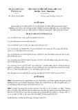 Nghị quyết số 28/2017/NQ-HĐND Tỉnh Gia Lai