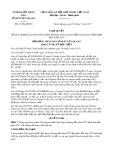 Nghị quyết số 12/NQ-HĐND Tỉnh Tuyên Quang