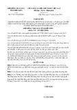 Nghị quyết số 75/2017/NQ-HĐND Tỉnh Điện Biên