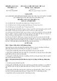 Nghị quyết số 75/2017/NQ-HĐND Tỉnh Đồng Nai
