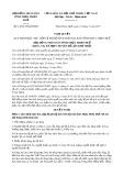 Nghị quyết số 14/2017/NQ-HĐND Tỉnh Thừa Thiên Huế