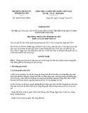 Nghị quyết số 103/2017/NQ-HĐND Tỉnh Hưng Yên