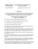 Nghị quyết số 22/2017/NQ-HĐND Tỉnh Quảng Bình
