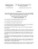 Nghị quyết số 16/2017/NQ-HĐND Tỉnh Quảng Bình