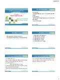 Bài giảng Quản trị rủi ro tài chính: Chương 1 - ThS. Hà Lâm Oanh