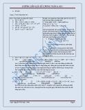 Hướng dẫn giải đề cương Toán lớp 6 HK1