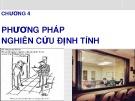 Bài giảng Nghiên cứu marketing: Chương 4 - ThS. Dư Thị Chung