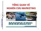 Bài giảng Nghiên cứu marketing: Chương 1 - ThS. Dư Thị Chung