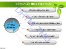 Bài giảng Cơ sở văn hóa Việt Nam: Chương 4.3 - ĐH Thương Mại