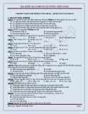 Bài kiểm tra chương hệ thống tuần hoàn