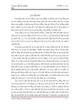 Chuyên đề tốt nghiệp: Đánh giá tình hình môi trường và công tác bảo vệ môi trường tại các chợ trên địa bàn Thành Phố Đà Nẵng
