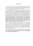 Luận văn: Phân tích tình hình vốn đầu tư trực tiếp nước ngoài vào tỉnh Quảng Nam (1997-2006) và dự báo đến 2010