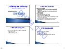 Bài giảng Cơ sở dữ liệu 1 - ĐH Thương Mại