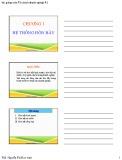 Bài giảng Tài chính doanh nghiệp 2: Chương 1 - ThS. Nguyễn Thị Kim Anh