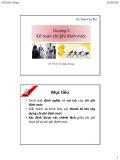 Bài giảng Kế toán chi phí: Chương 5 - ThS. Vũ Quốc Thông