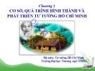 Bài giảng Tư tưởng Hồ Chí Minh: Chương 1 - ĐH Thương Mại